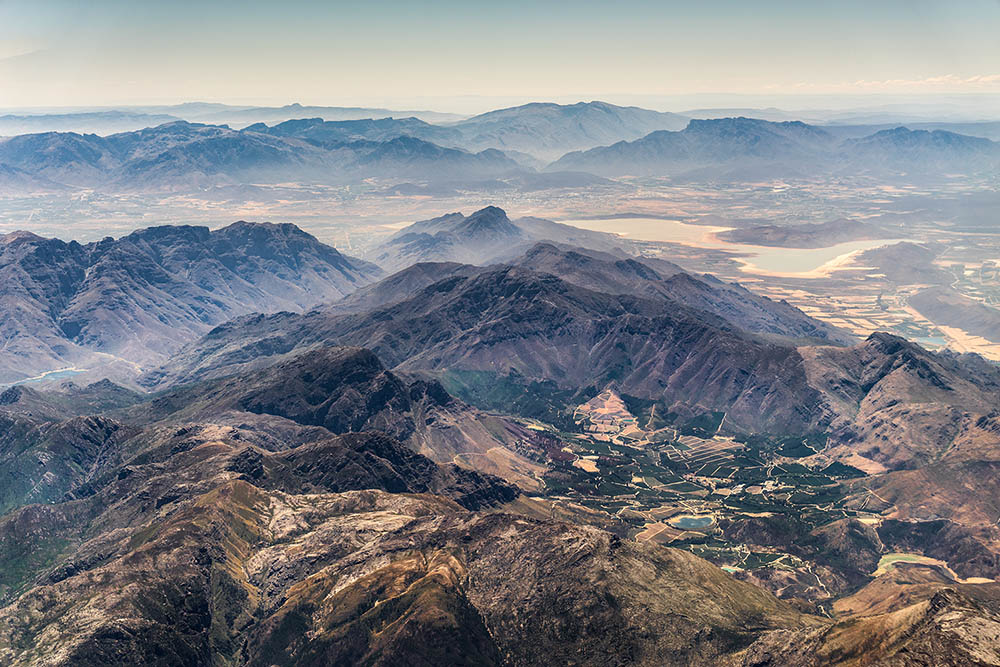 Aerial photography landscapes