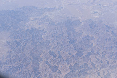 North Africa from the air before
