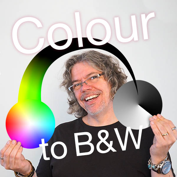 colour to black and white video with Tim of red rocket studio