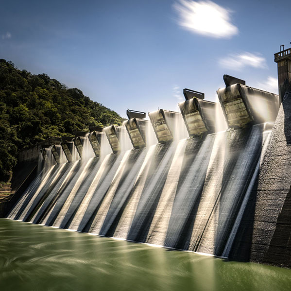 Shongweni Dam South Africa with nd filter and long exposure to add magic to image.
