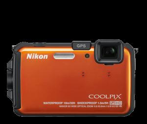 Nikon AW100 underwater camea