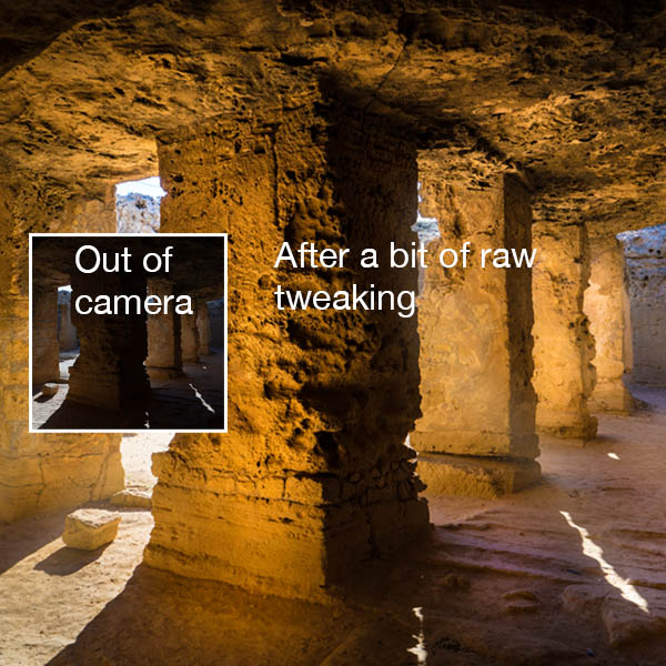 Tomb of Kings before and after sq