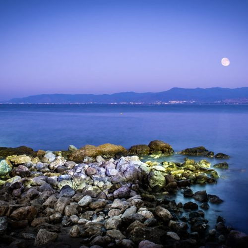 final photograph the moon Cyprus image