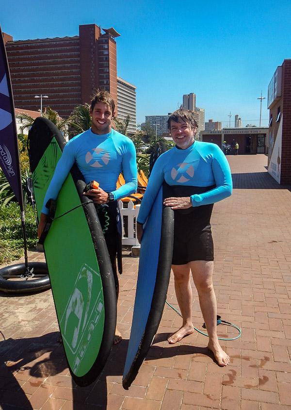 josh Tim Xpressions surf durban beach