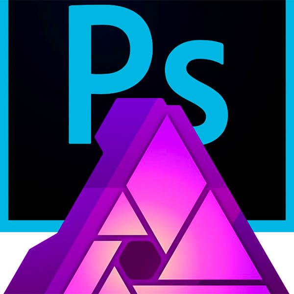 photoshop vs Affinity Photo sq logo