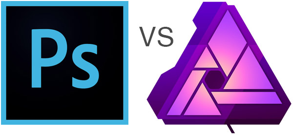 photoshop vs Affinity Photo logos