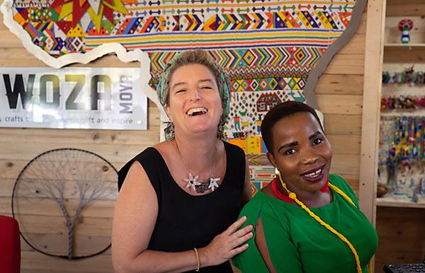Smiling Woza Moya Staff