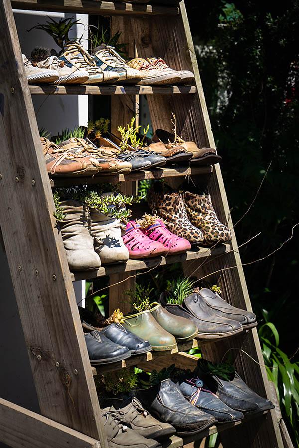 Woza Moya upcycling - shoes