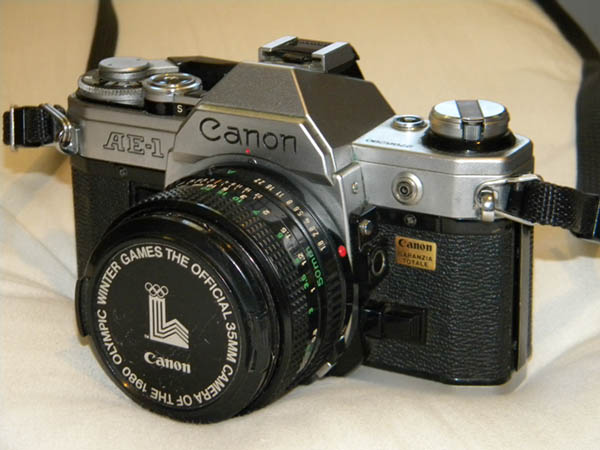 Canon_AE-1 - another option for best film camera for beginners