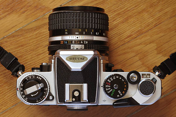 Nikon_FE - best film cameras for beginners