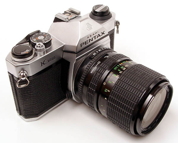Pentax_K1000 - best film cameras for beginners