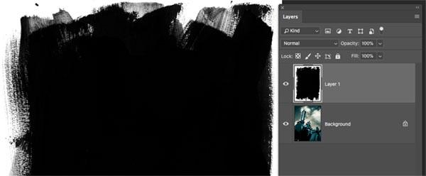 original paper layer as used in cyanotype print