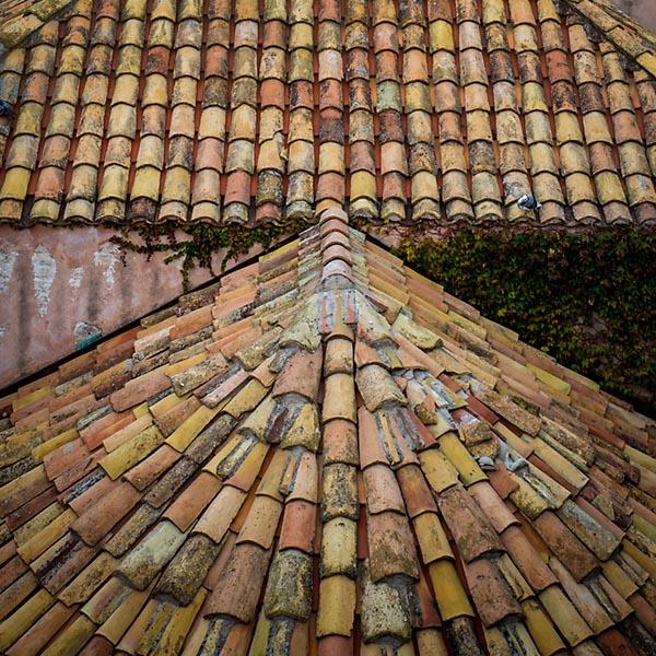 Dubrovnik roof texture