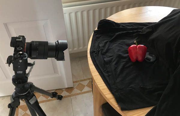 Set up for how to photograph like edward weston