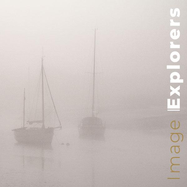 Wivenhoe boats like Michael kenna high key