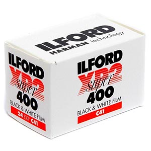 Ilford XP2 Black and white film