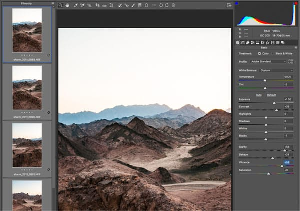 How to photograph a panorama - Images in Raw ready for processing for panorama