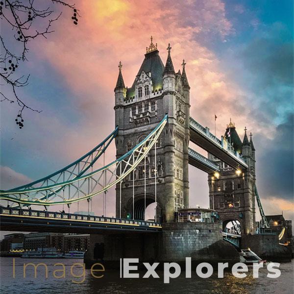tower bridge on iphone camera