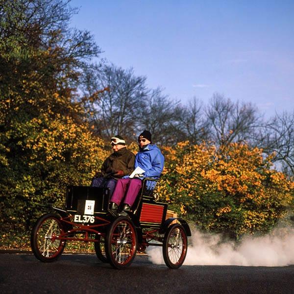 London to Brighton no blur autumn colours