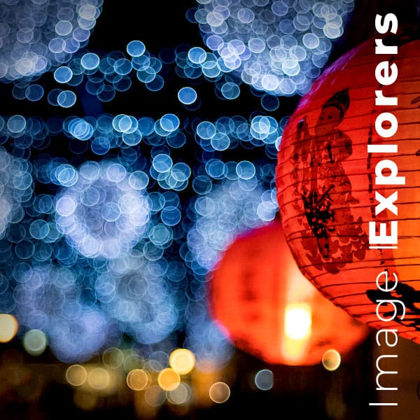 Image of lights in greenwich market to show what is Bokeh