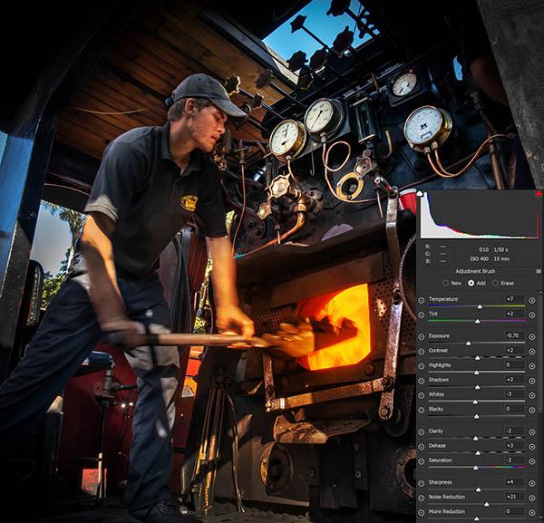 steam train south africa raw settings