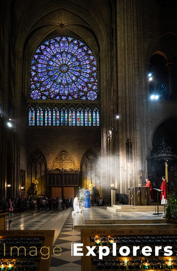 Notre Dame Mass and Incense