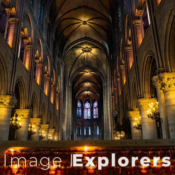 NotreDame candles interior 2018