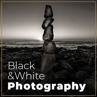 Black and white photography for film and digital