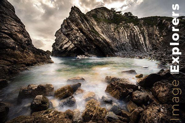 Lulworth Cove Photograph the Jurassic coast with an ND filter